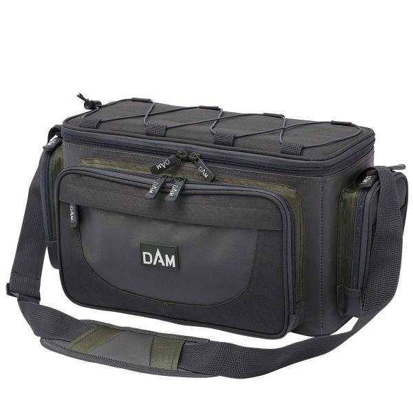 D.A.M Caryall  horgász táska M méret + 3db csalidoboz