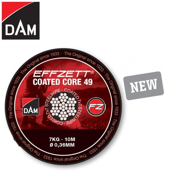 D.A.M Effzett core49 drótelőke 10m 16kg barna