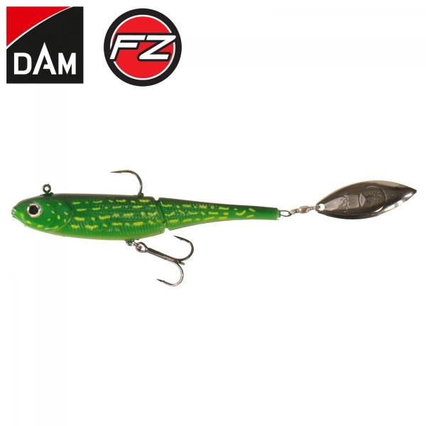 D.A.M FZ Kick-s minnow gumihal 10cm pike