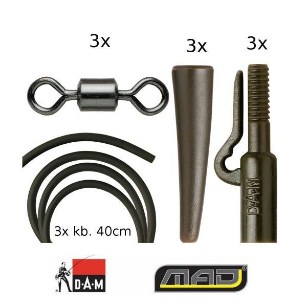 D.A.M MAD Boilies előkeszerelék 3/cs