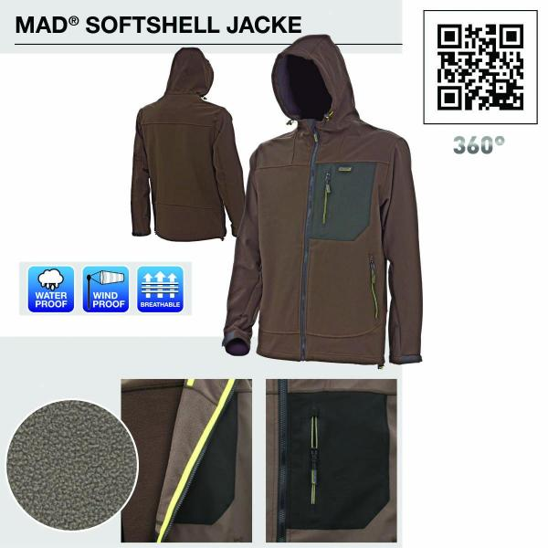 D.A.M MAD Softshell jacket m