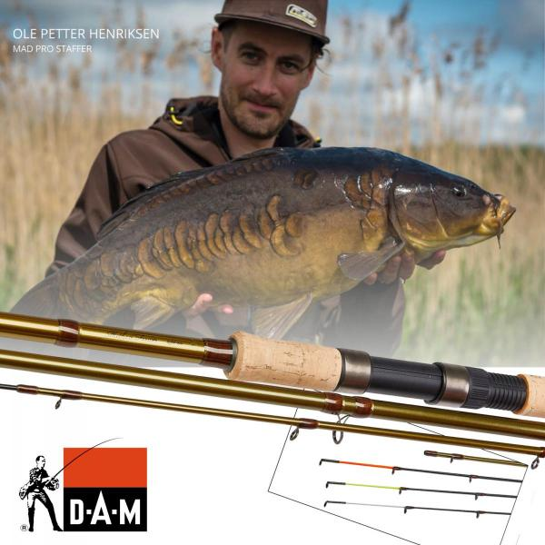 D.A.M Method feeder 3,9m up to 80g