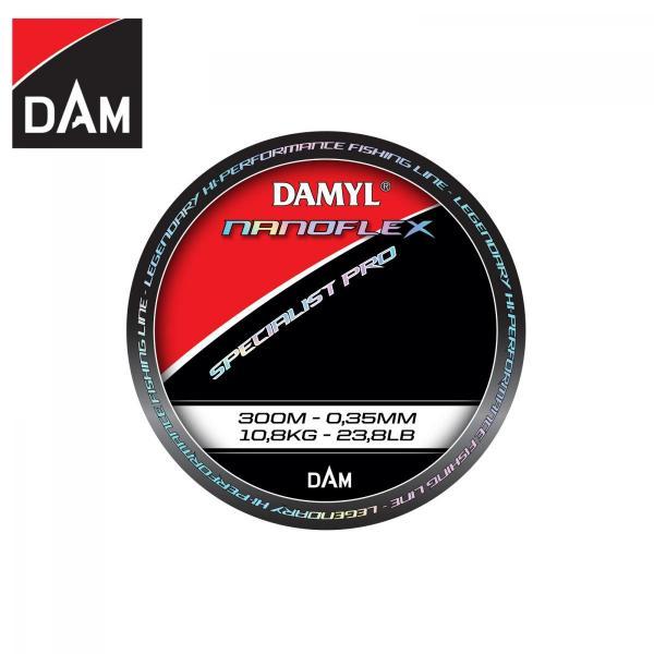 D.A.M Nanoflex Specialist Pro 0,25mm 300m - monofil zsinór