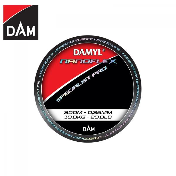 D.A.M Nanoflex Specialist Pro 0,35mm 300m - monofil zsinór