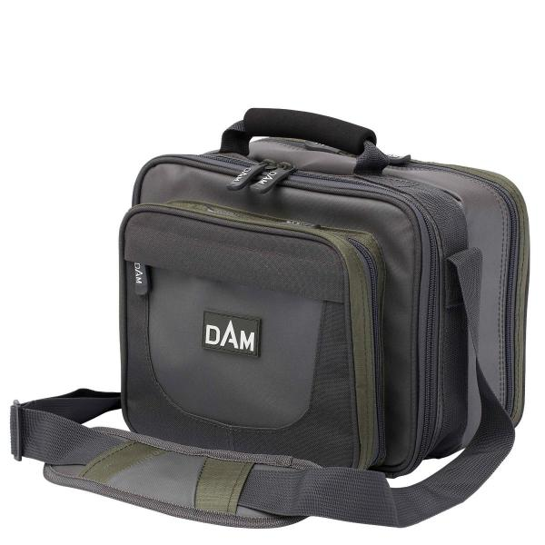 D.A.M Pergető táska 2 dobozzal 30X20X25 S