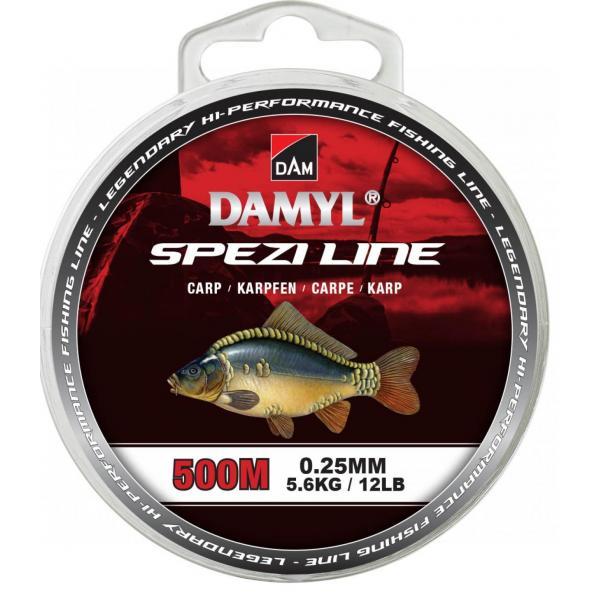 D.A.M Spezi line carp 500m 0,25mm zsinór