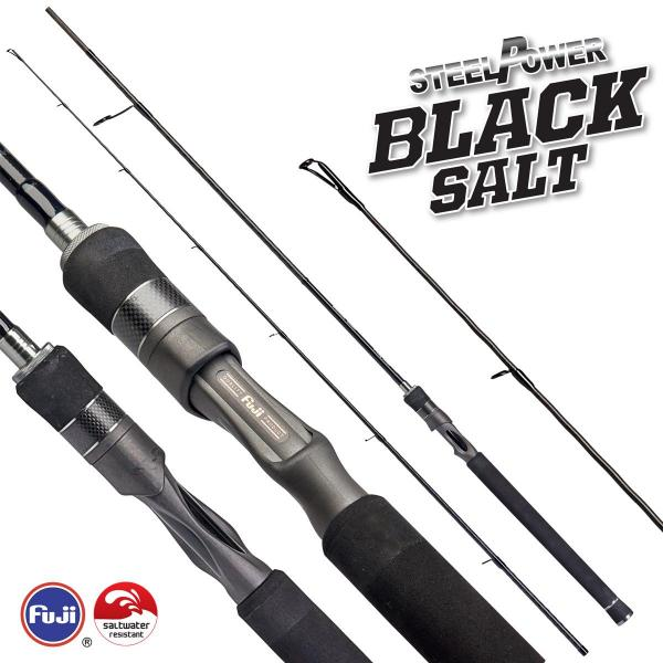 D.A.M Steelpower Black Salt 2,10m 5-25g - pergető bot