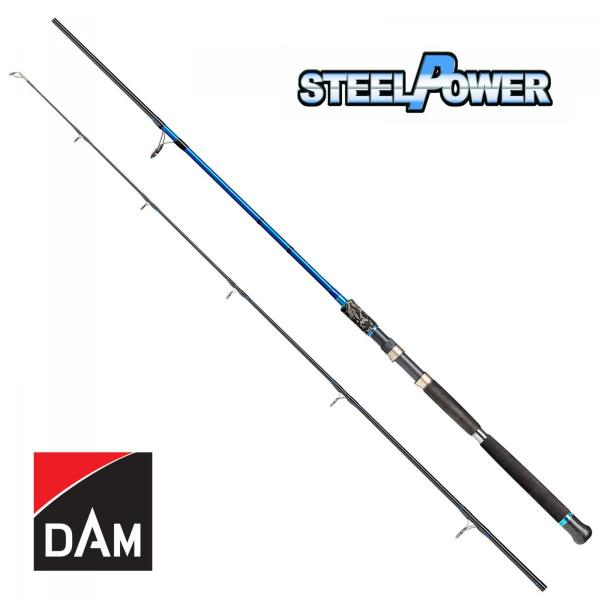 D.A.M Steelpower Blue Shad&Pilk 3,0m 170g - pergető bot