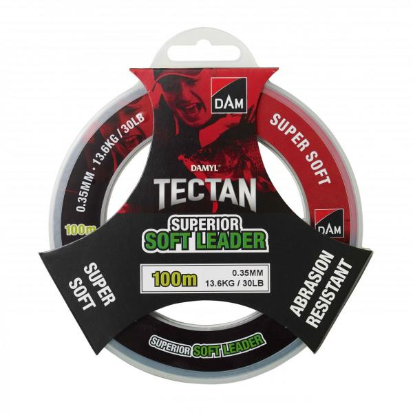 D.A.M TECTAN Superior soft leader 100m 0,35mm