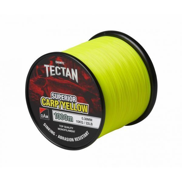 D.A.M Tectan superior carpy yellow 1000m 0,30 fluo monofil