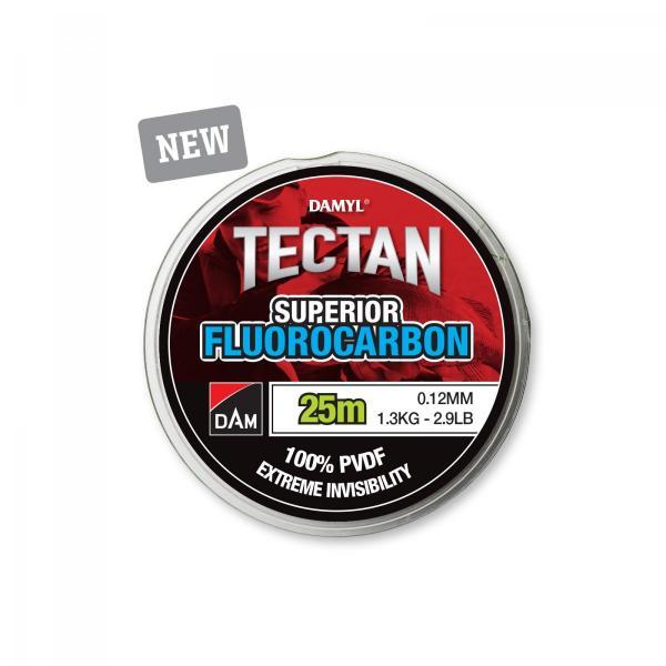 D.A.M Tectan superior fc 25m 0,12mm 1,3kg előke zsínór