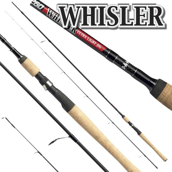 D.A.M Whisler ultra light jig 2,4m 3-15g pergető bot