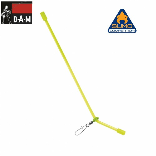 D.A.M SUMO CASTING BOOM Fluo gubancgátló 8,5cm