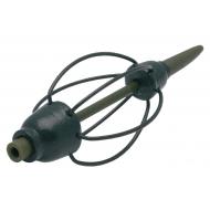 DEÁKY Inline bordás etetőkosár -  60gr