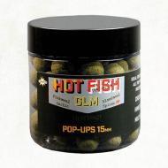 DYNAMITE BAITS Hot Fish & GLM 15mm Pop-Up bojli DY1013