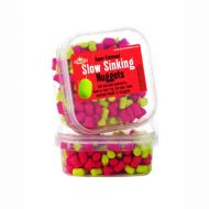 DYNAMITE BAITS Super Fishmeal Slow Sinking nuggets / Piros-Sárga DY356