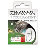 DAIWA TOURNAMENT feeder kötözött horog ezüst - 10-es