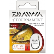 DAIWA Tournament pontyozó kötött horog 450-es - 4-es
