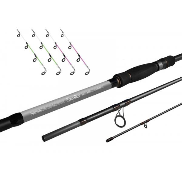 Delphin Long Shot feeder 360cm/3,5lbs távdobó feeder bot
