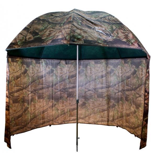 Delphin Terepszínű sátras PVC horgászernyő 250cm/camou