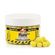 DYNAMITE BAITS Fluro Pop-Up bojli - Coconut Cream / 10mm