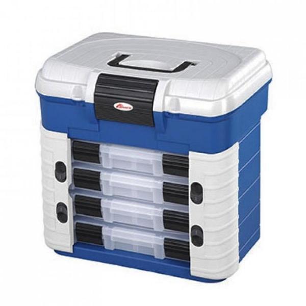 EUROSTAR 501 Superbox  panaro rendszerező láda kék