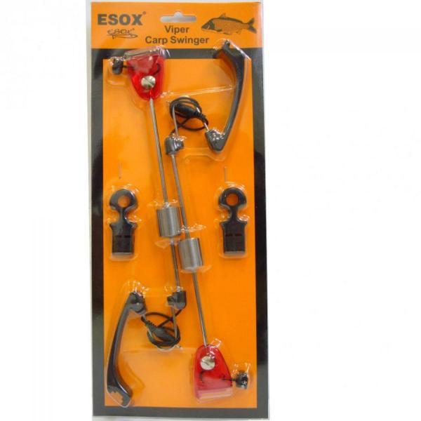 EUROSTAR Esox Viper Carp elektromos swinger - piros ledfénnyel