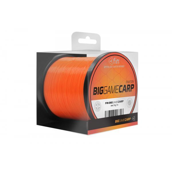 FIN BIG GAME CARP 600m/narancs 0,25mm