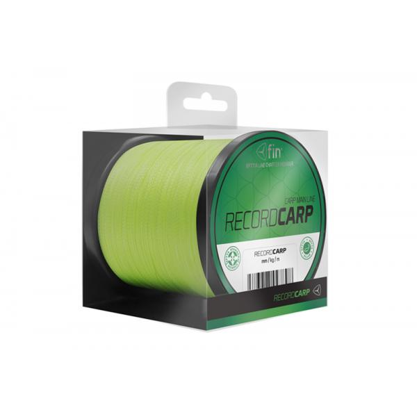 FIN RECORD CARP 3500m/fluo yellow 0,16mm 6,2kg