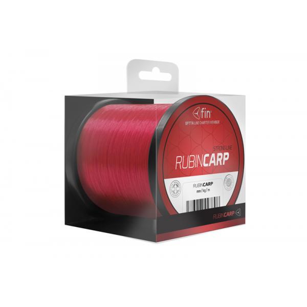 FIN Rubin Carp 4600m 0,33mm pontyozó zsinór - piros