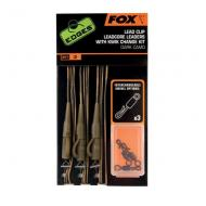 FOX Edges leadclip rigs dark camo