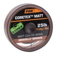 FOX Edges matt Coretex mravelly brown 25lb 20m előkezsinór