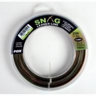 FOX Snag leader line camo 0,45mm/25lbs 100m