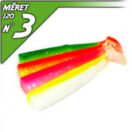 Fiiish 4db test a 120-as Black Minnow-hoz - Flashy 2 Color Box
