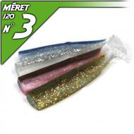 Fiiish 4db test a 120-as Black Minnow-hoz - Natural 2 Color Box