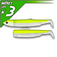 Fiiish Black Minnow 120 Jaune Fluo - Off Shore-fej 25g/12cm