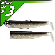 Fiiish Black Minnow 120 Noir - Shore-fej 12g/12cm