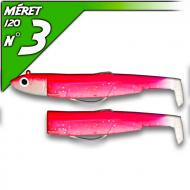 Fiiish Black Minnow 120 Rose Fluo - Off Shore-fej 25g/12cm