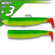 Fiiish Black Minnow 120 Vert/Orange - Shalow-fej 6g/12cm