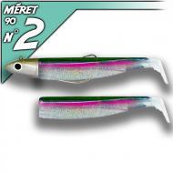 Fiiish Black Minnow 90 Green Morning - Off Shore-fej 10g/9cm