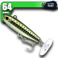 Fiiish Power Tail - Natural Minnow - Fast Action 64mm/12g