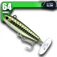 Fiiish Power Tail - Natural Minnow - Slow Action 64mm/8g