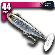Fiiish Power Tail - Silver Glitter - Fast Action 44mm/12g