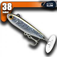 Fiiish Power Tail - Silver Glitter - Slow Action 38mm/4,8g