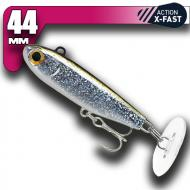 Fiiish Power Tail - Silver Glitter - X-Fast Action 44mm/18g