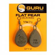 GURU Flat Pear Bomb ólom - 31gramm (1.1oz)