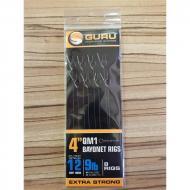 GURU Bayonets QM1 előke 12-es horog 0,22mm 10cm