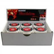 HALDORÁDÓ Bloodworm MIX-6 szúnyoglárva imitáció (6féle egy csomagban)