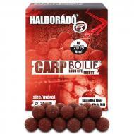 HALDORÁDÓ Carp Boilie főzött - Fűszeres Vörös Máj 24 mm 800gr bojli