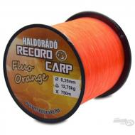 HALDORÁDÓ Record Carp Fluo Orange 0,35 mm / 750 m / 12,75 kg